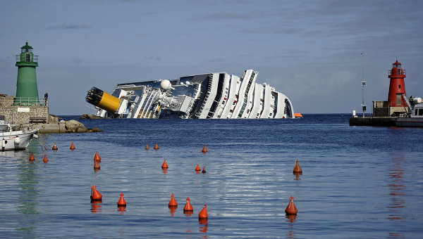 Costa Concordia. Архив